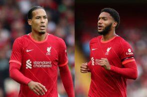 Virgil van Dijk & Joe Gomez - Liverpool