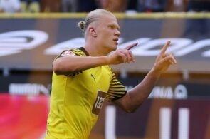 Erling Haaland - Borussia Dortmund v Eintracht Frankfurt - Bundesliga