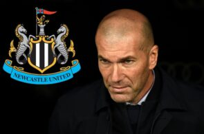 Zinedine Zidane, Newcastle United