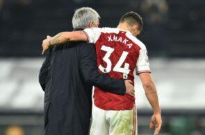 Jose Mourinho, Granit Xhaka, Arsenal