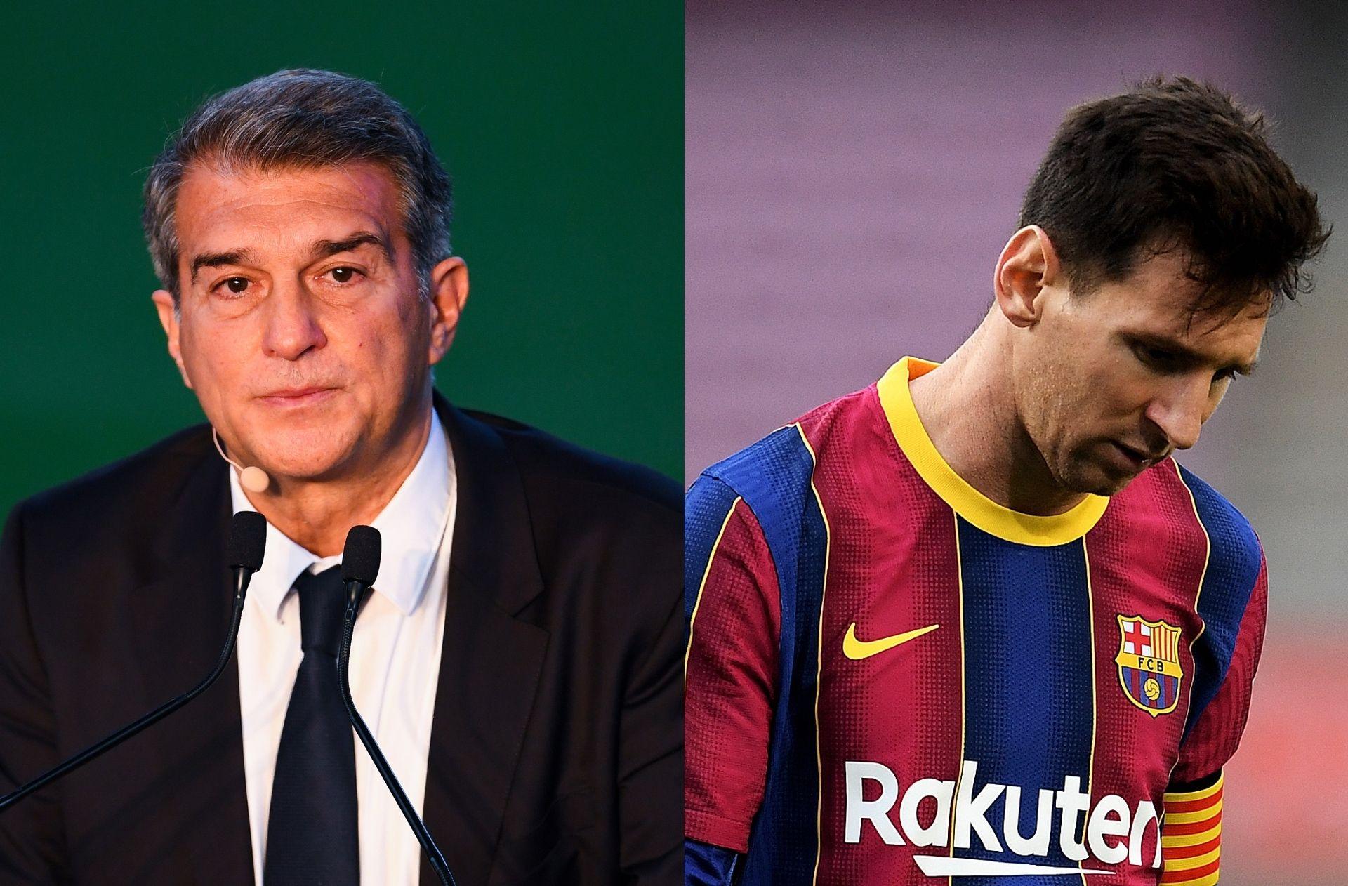 Joan Laporta, Lionel Messi