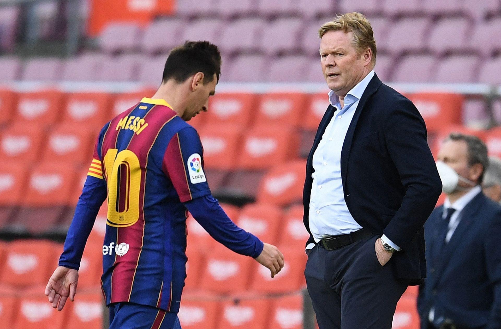 Ronald Koeman, Lionel Messi, FC Barcelona