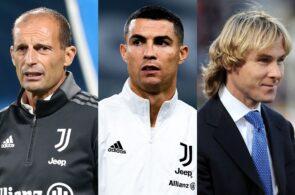 Massimiliano Allegri, Cristiano Ronaldo, Pavel Nedved