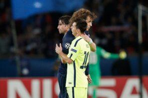 David Luiz, Lionel Messi