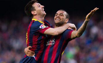 Lionel Messi, Dani Alves
