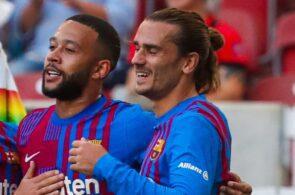 Memphis Depay & Antoine Griezmann - FC Barcelona