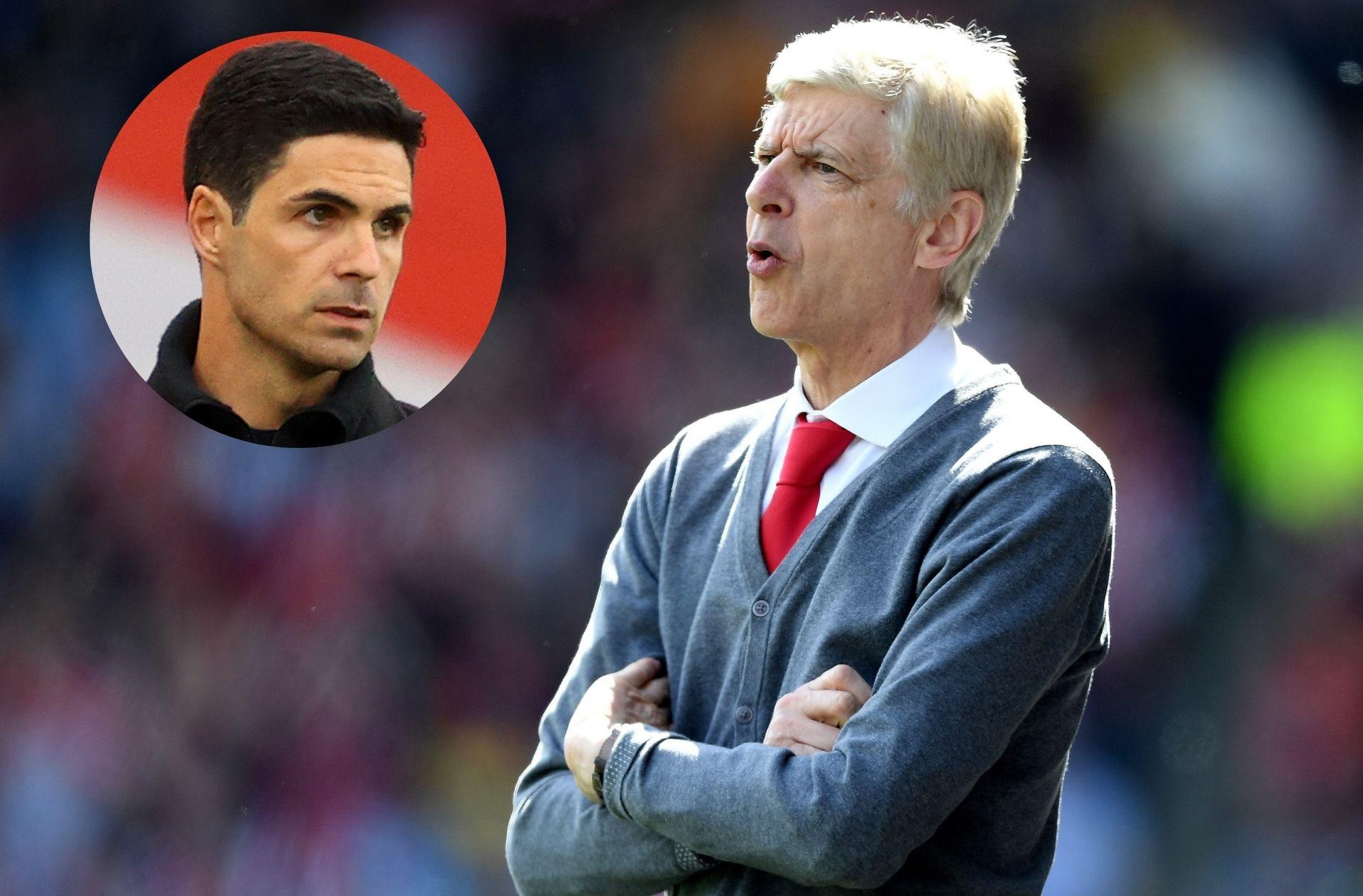 Mikel Arteta, Arsene Wenger - Arsenal