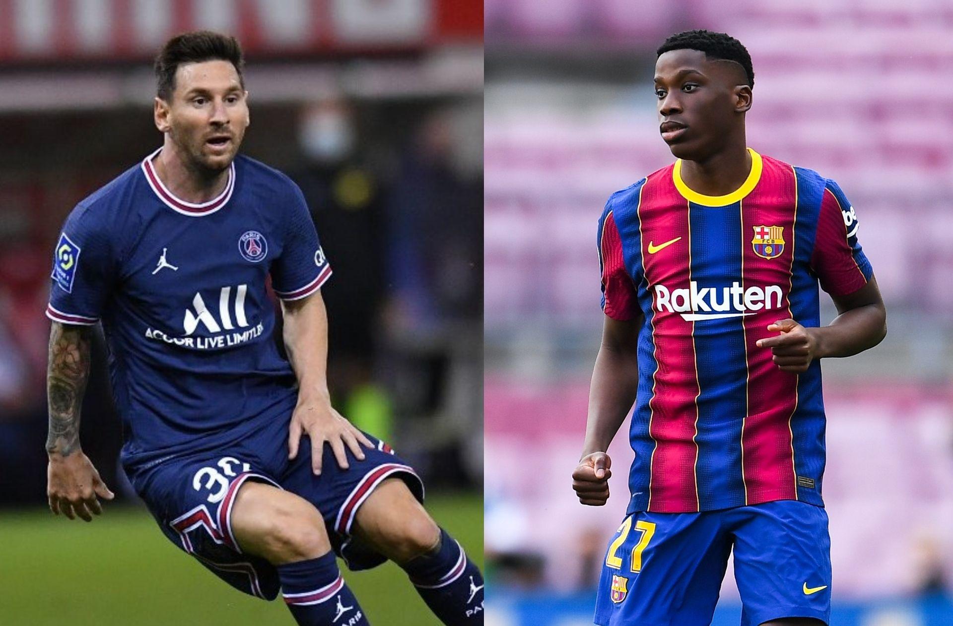 Messi - PSG, Moriba - Barcelona