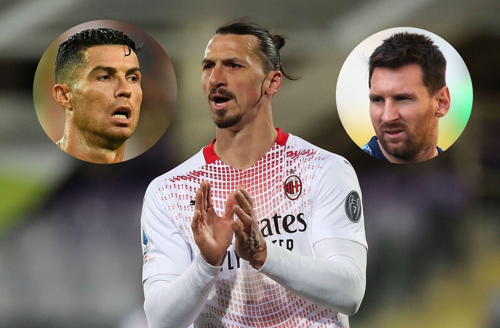 Ronaldo, Ibrahimovic, Messi