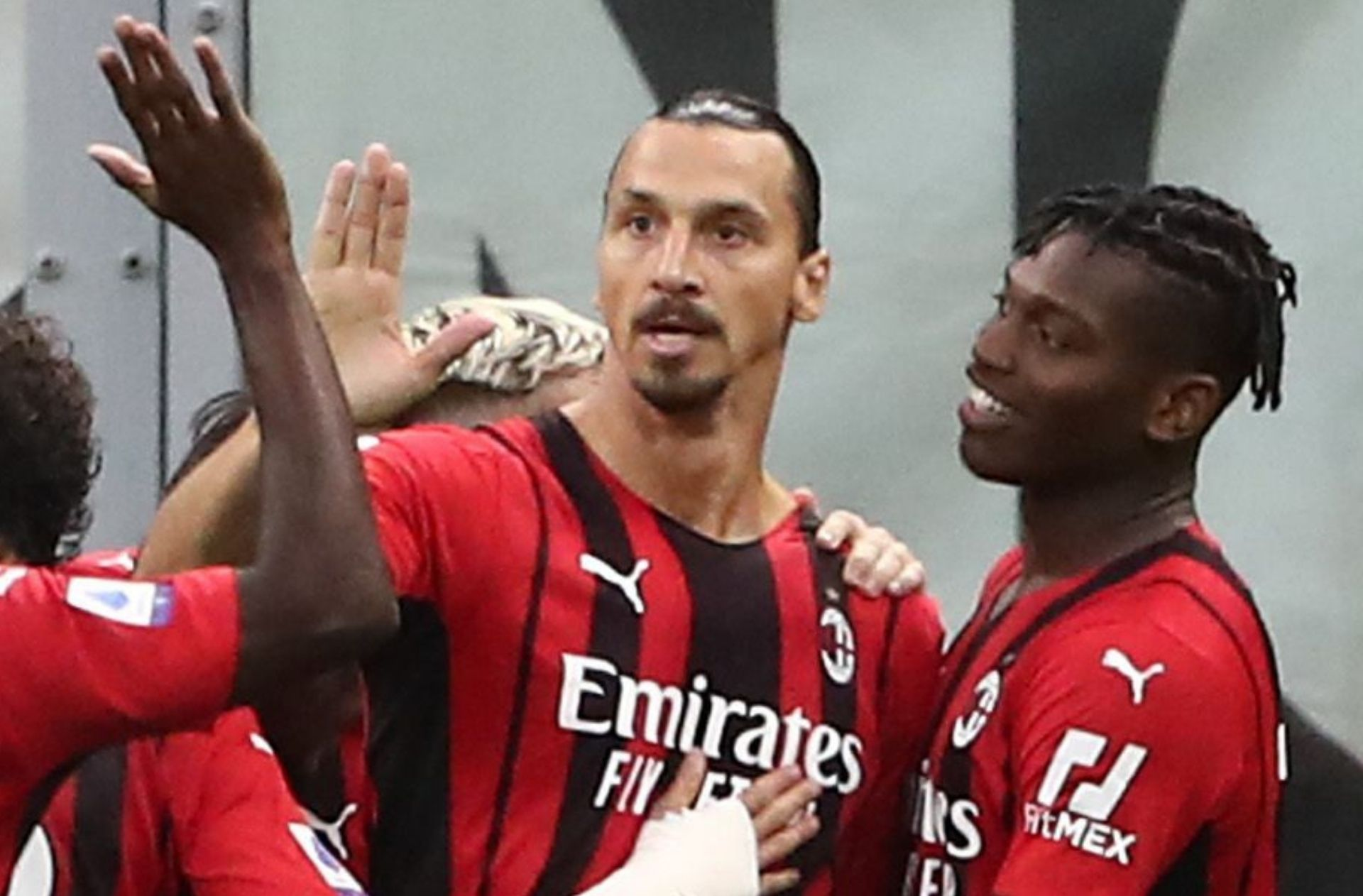 Zlatan Ibrahimovic - AC Milan v Lazio - Serie A