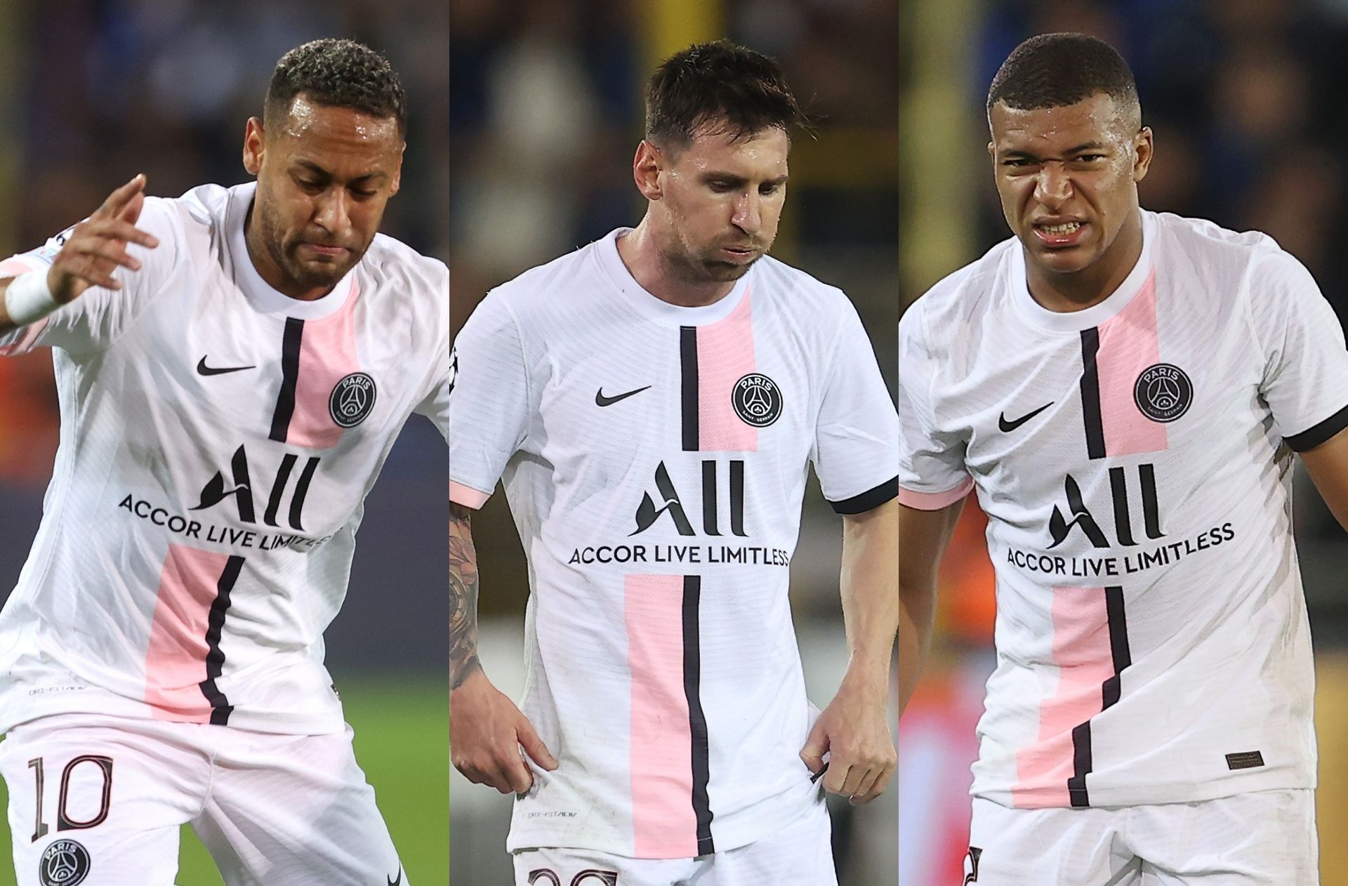 Neymar, Messi, Mbappe - PSG