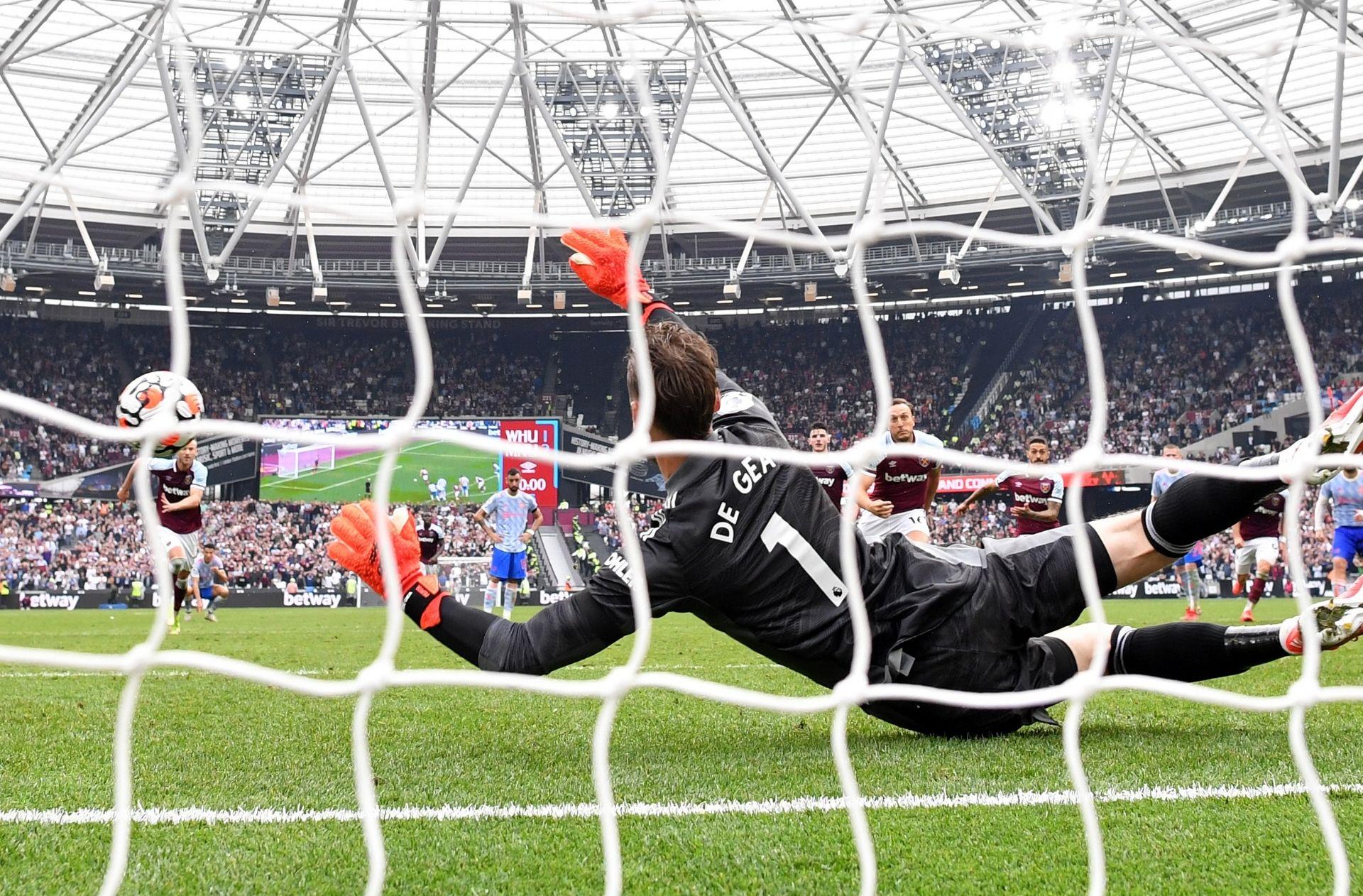 David De Gea - West Ham vs Man United - Premier League