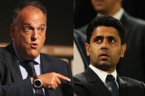 Javier Tebas - La Liga, Nasser Al-Khelaifi - PSG