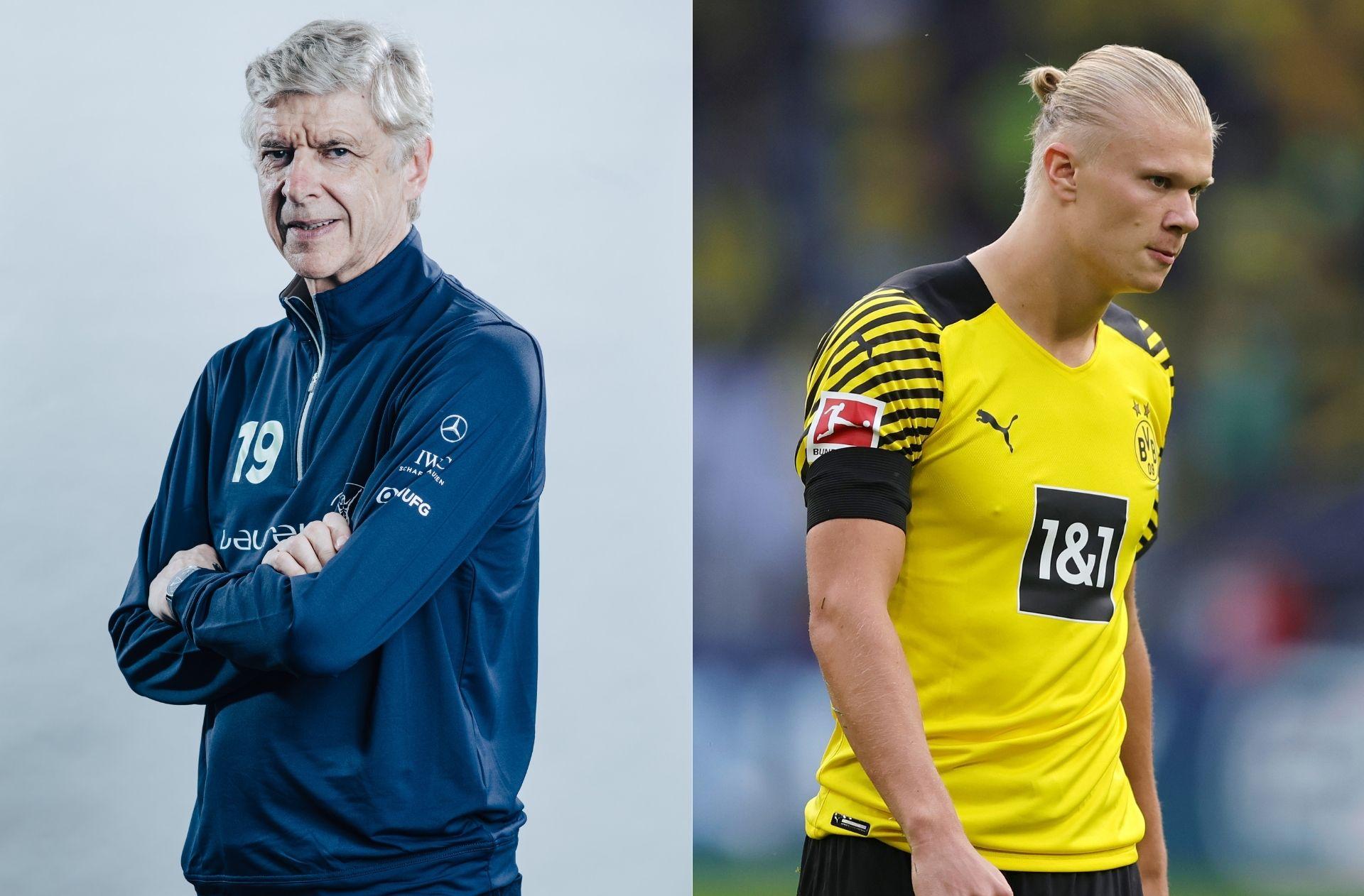 Arsene Wenger, Erling Haaland