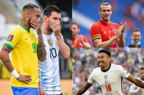 Jesse Lingard, Gareth Bale, Lionel Messi, Neymar, World Cup