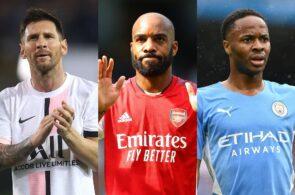 Lionel Messi, Alexandre Lacazette, Raheem Sterling, Transfer