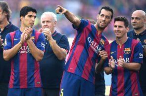 Sergio Busquets, Lionel Messi, FC Barcelona