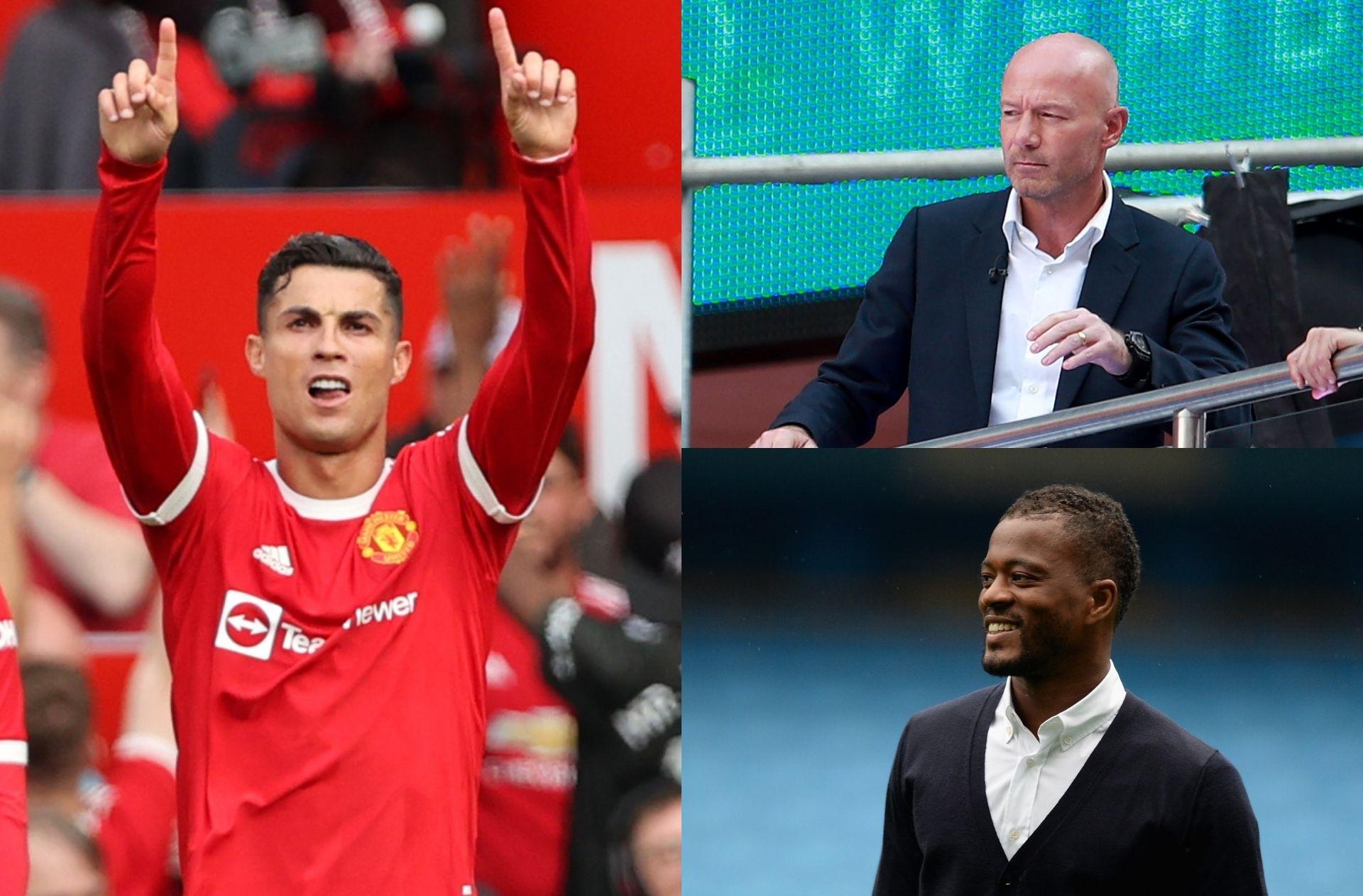 Cristiano Ronaldo, Alan Shearer, Patrice Evra