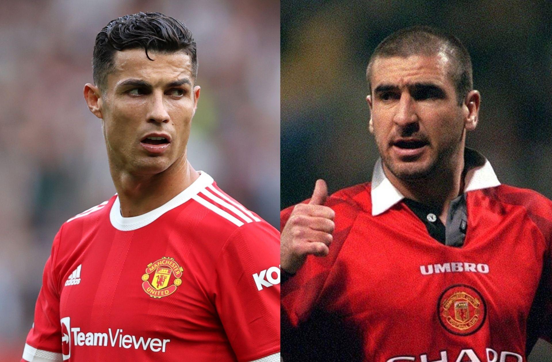 Cristiano Ronaldo, Eric Cantona, Manchester United