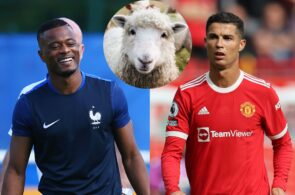Patrice Evra, Sheep, Cristiano Ronaldo