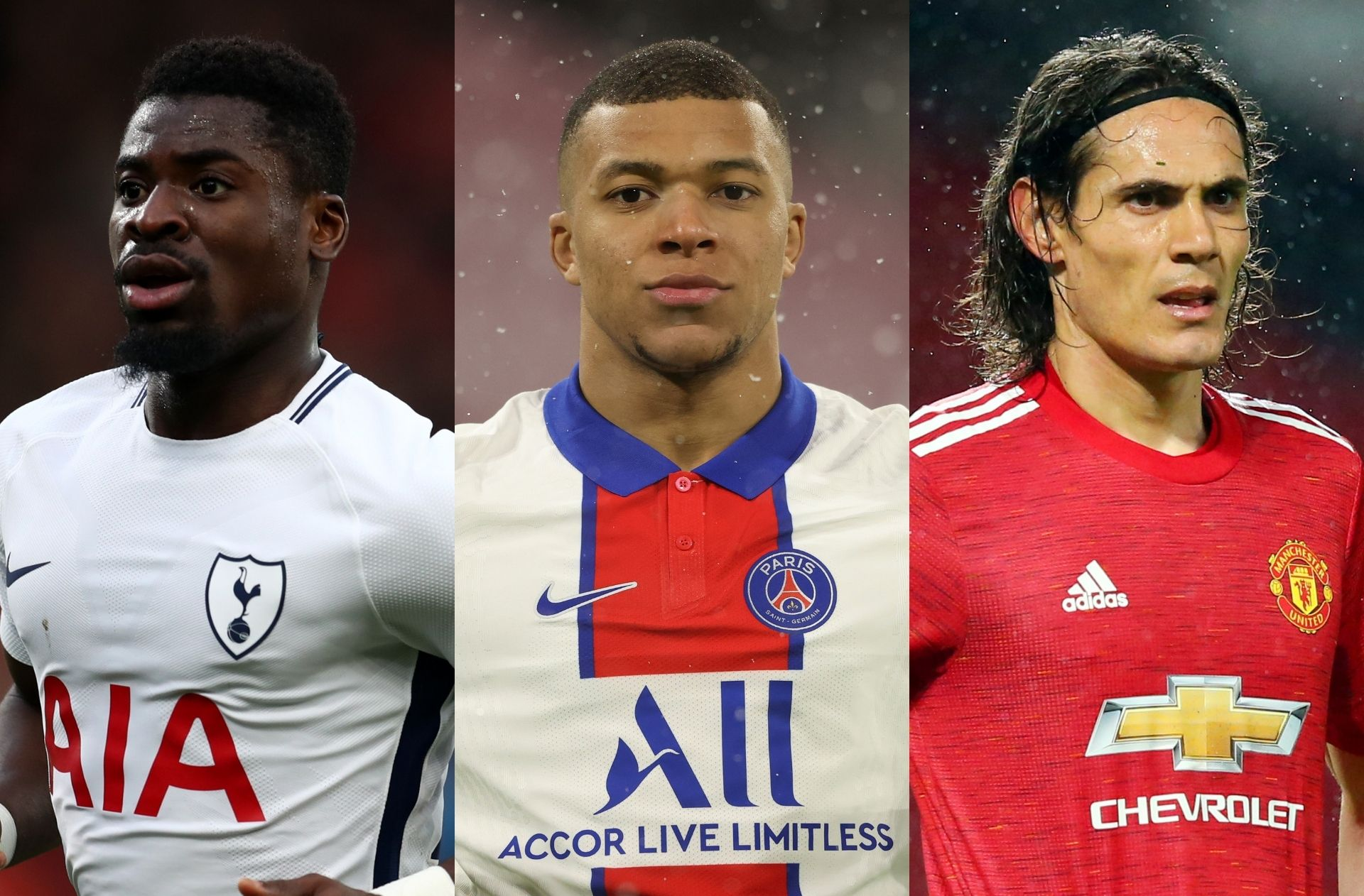 Serge Aurier, Kylian Mbappe, Edinson Cavani, transfer