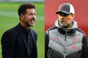 Diego Simeone - Atletico Madrid, Jurgen Klopp - Liverpool